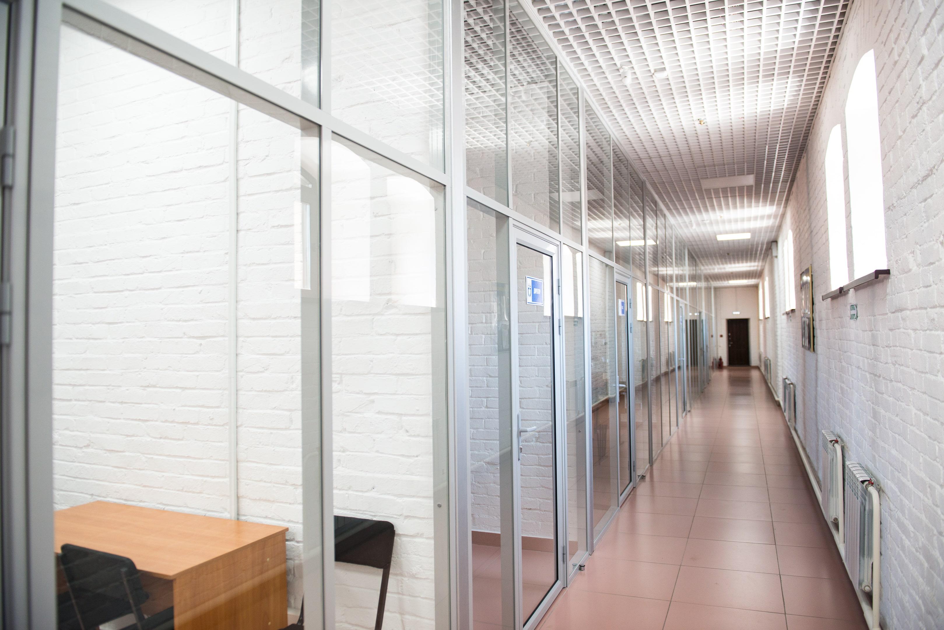 Перегородки в офисных помещениях